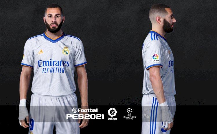 PES 2021 Real Madrid Facepack