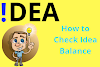 How To Check Idea Balance (2020) Information