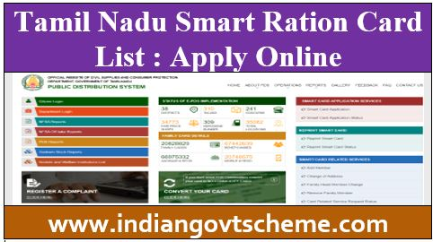 Tamil+Nadu+Smart+Ration+Card