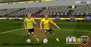 FTS 15 Mod FIFA 18 by Duhan