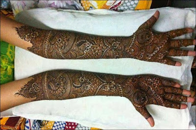 latest mehndi designs for full hands