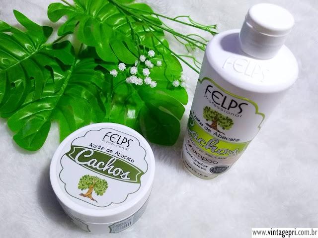 #Testei: Shampoo e Máscara Linha Cachos - Azeite de Abacate (Felps Cosméticos)
