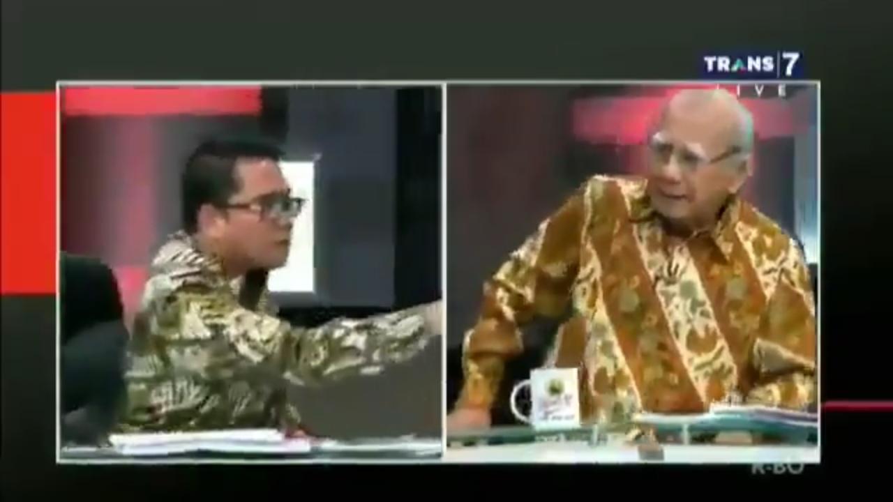 Berteriak Sambil Melotot, Politisi PDIP Bungkam Saat Emil Salim Lempar 2 Pertanyaan