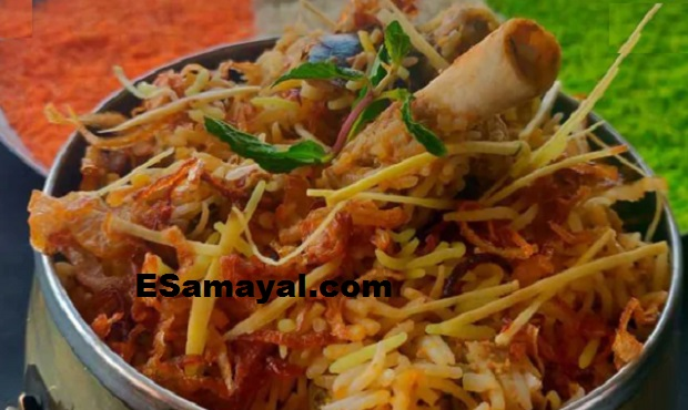 சார்மினார் பிரியாணி ரெசிபி | Char Minar Biryani Recipe !