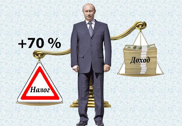 Рост налогов на 70 %, подорожание коммунальных услуг в 27 раз за последних 20 лет – удивился даже В. Путин