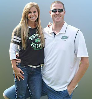 Annette Evertson with her ex-husband Shawn Bradley