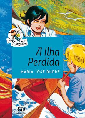 A ilha perdida. Maria José Dupré. Editora Ática. Série Vaga-Lume. 2015-atualmente (41ª edição). ISBN: 978-85-08-17345-7. Capa de Marcelo Martinez, baseado em ilustração original de Edmundo Rodrigues.
