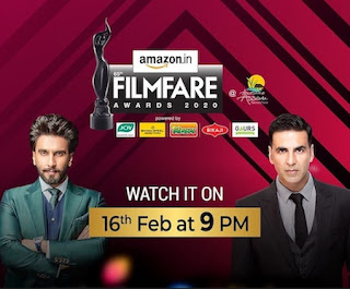 65th Filmfare Full Awards Show Download 300MB 480p HDTV