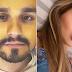 Luan Santana e Franciny Ehlke postam fotos com travisseiros parecidos