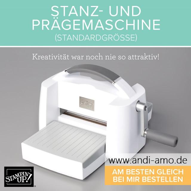 Neue Stanz- und Prägemaschine Stampin Up