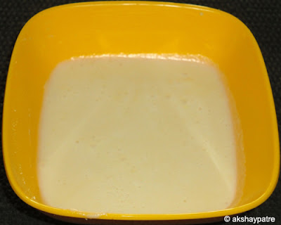 milk powder paste