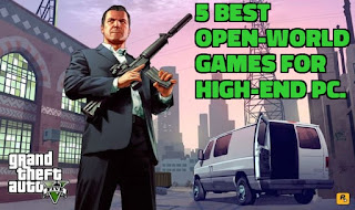 Best Open-World games with best ever-graphics in 2020.