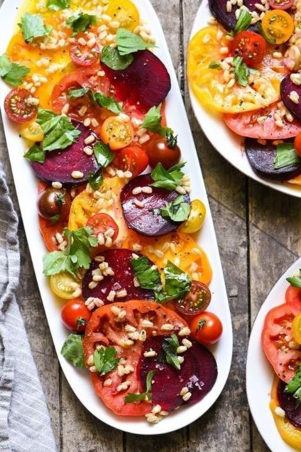 Heirloom Tomato & Beet Salad
