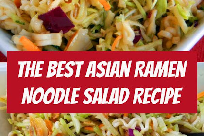 The Best Asian Ramen Noodle Salad Recipe #salad #ramennoodle #potluck #sidedish