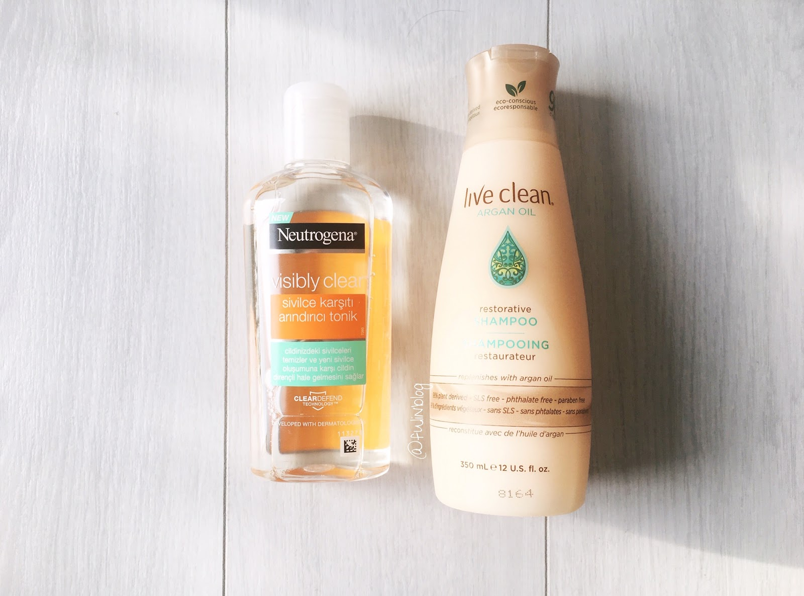 live clean argan oil şampuan
