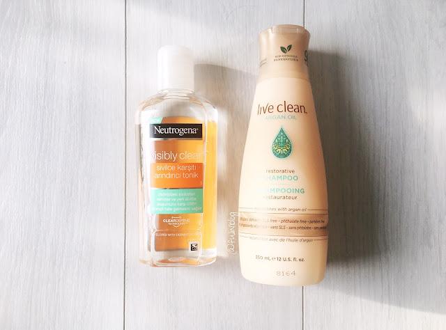 live clean argan oil şampuan