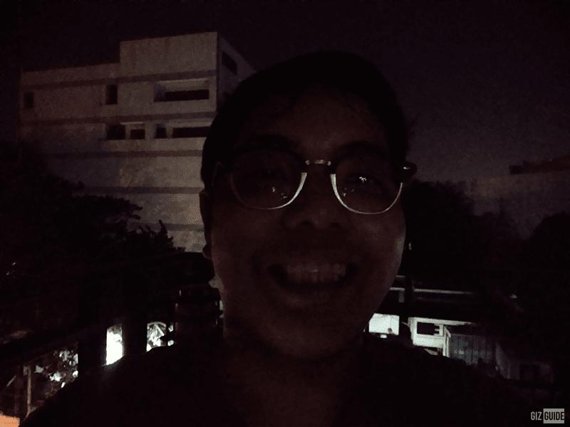 vivo Y11 selfie low light