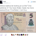 Tweet of the day! See What This Guy Did To Tafewa Balewa In Five Naira That Got Everyone Smiling