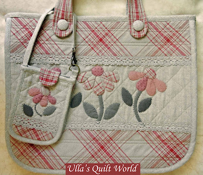Ulla S Quilt World Bag Anese Patchwork