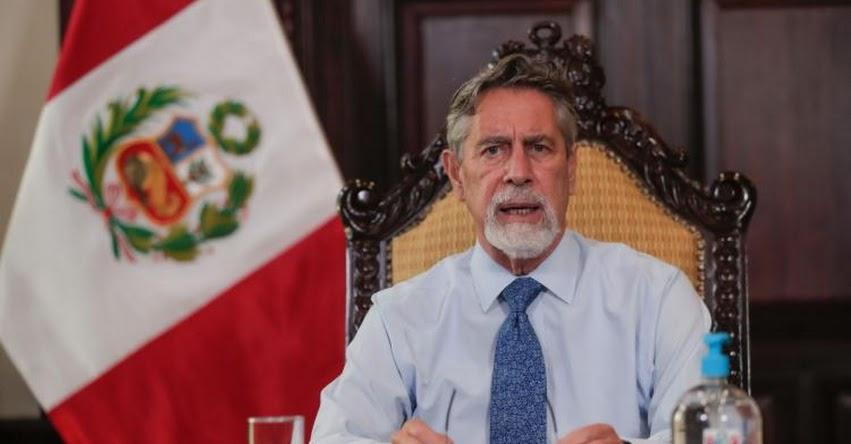 MENSAJE A LA NACIÓN: Mensaje Presidencial de Francisco Sagasti (5 Febrero 2021)