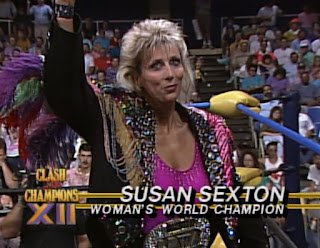 WCW Clash of the Champions XII - Susan Sexton