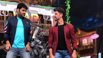 The Kapil Sharma Show Hrithik Roshan dance video while promoting War