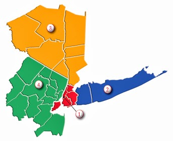 Map Of Greater New York City.Service Map The Official Blog
