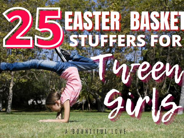 Easter Basket for Tween Girls