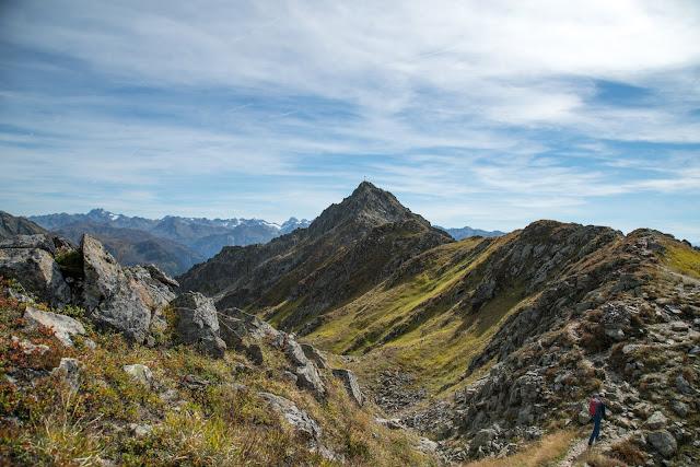 Gipfelweg Zamangspitze  Wandern Silvretta-Montafon  Vorarlberg 01