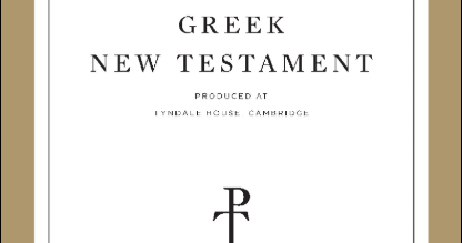 Review: Jongkind's Intro to the Tyndale House GNT
