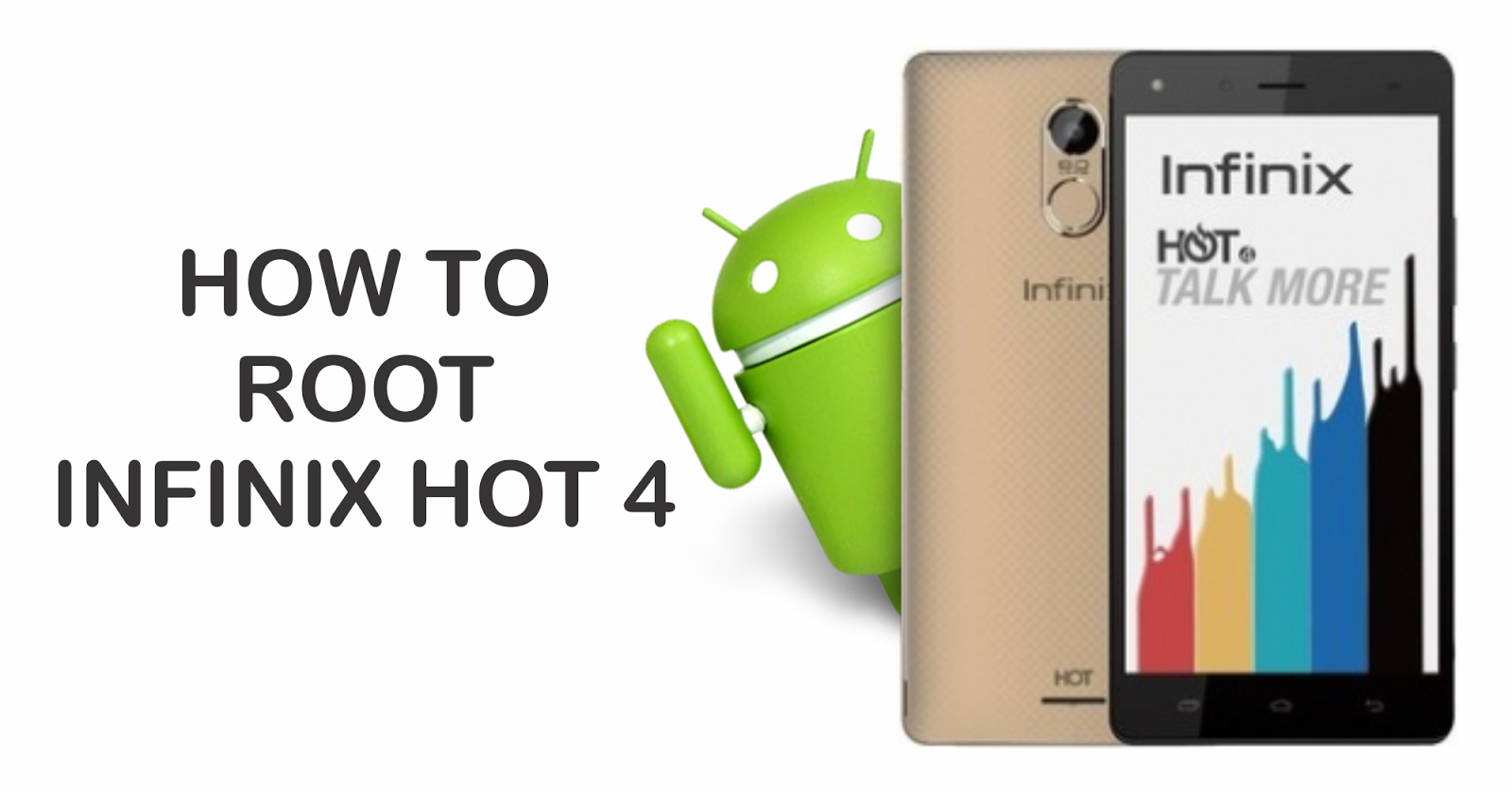 application to root infinix hot