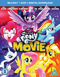 Cover of the UK/Ireland edition of the MLP movie disc