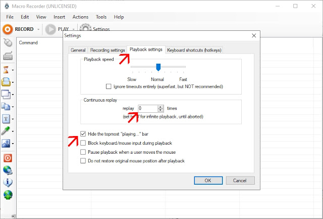 Setting Jitbit Macro Recorder Point Blank Zepetto