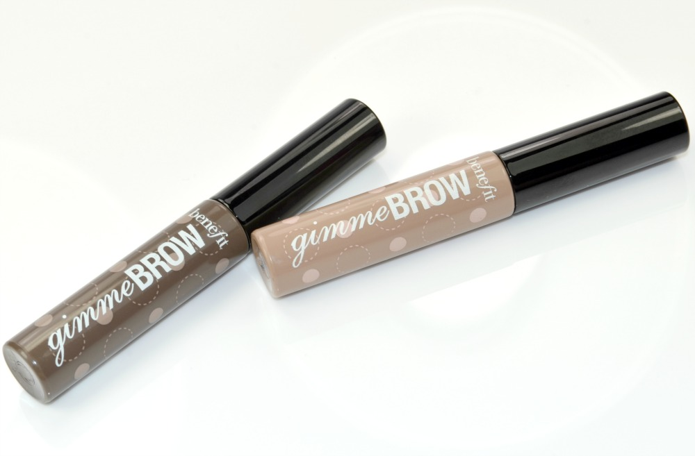 The two brow gels in their tubes