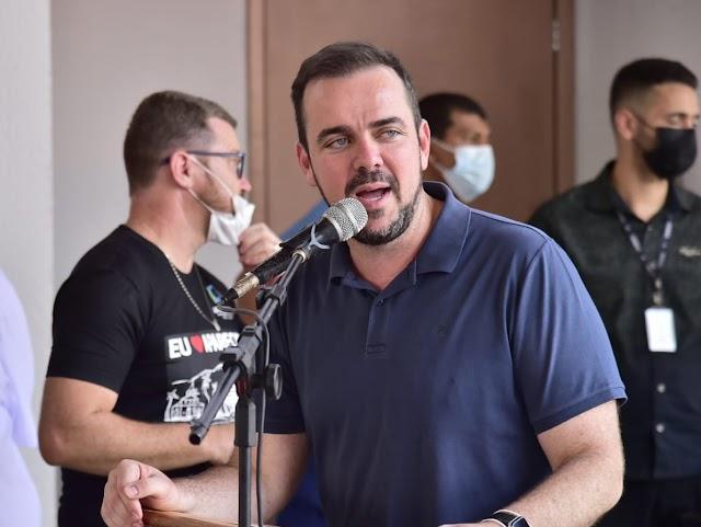 Gustavo Mendanha em Rio Verde