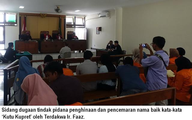 JPU Temukan Kejanggalan Perkara Terdakwa Penghina Wartawan di PN Yogyakarta