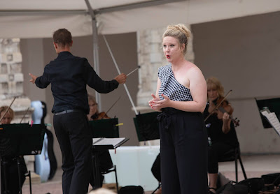 Opera Holland Park - Emma Stannard, Matthew Kofi Waldren, City of London Sinfonia(Photo Ali Wright)