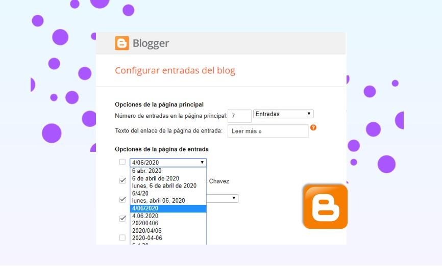 Corregir error en los datos estructurados al configurar en Blogger