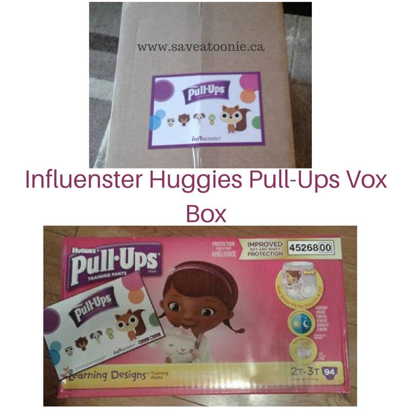 Huggies Pull-Ups VoxBox