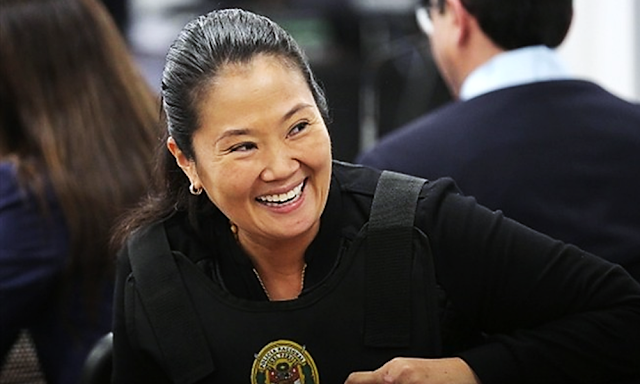 Keiko Fujimori salió de prisión