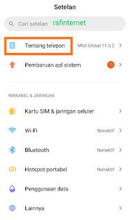Cara Mengaktifkan Opsi Pengembang di Xiaomi