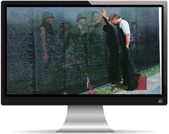 Hommage Soldats Tombés au Combat - Fond d'écran en Full HD 1080p