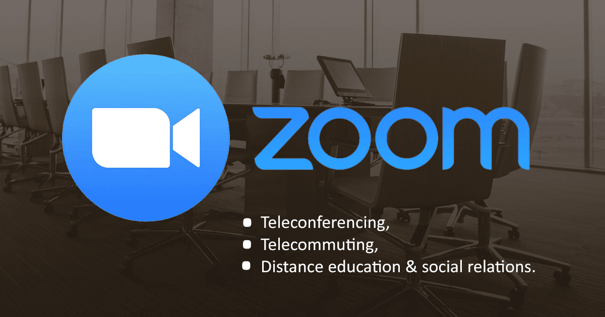 Please read before using the Zoom meeting software.