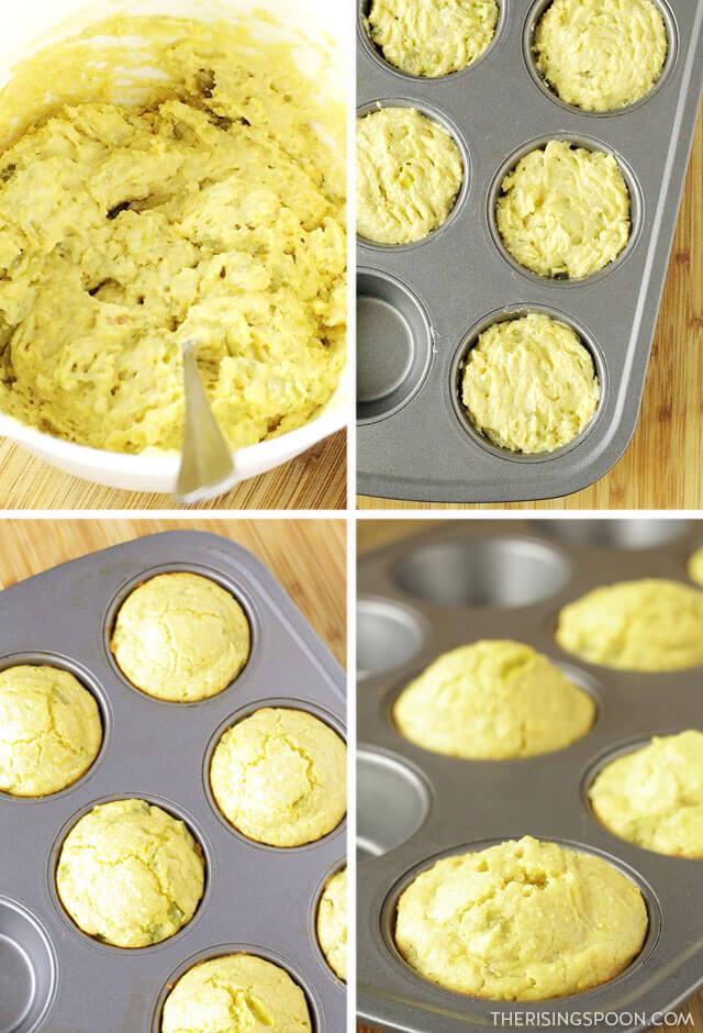 How to Make Honey Cornbread Muffins