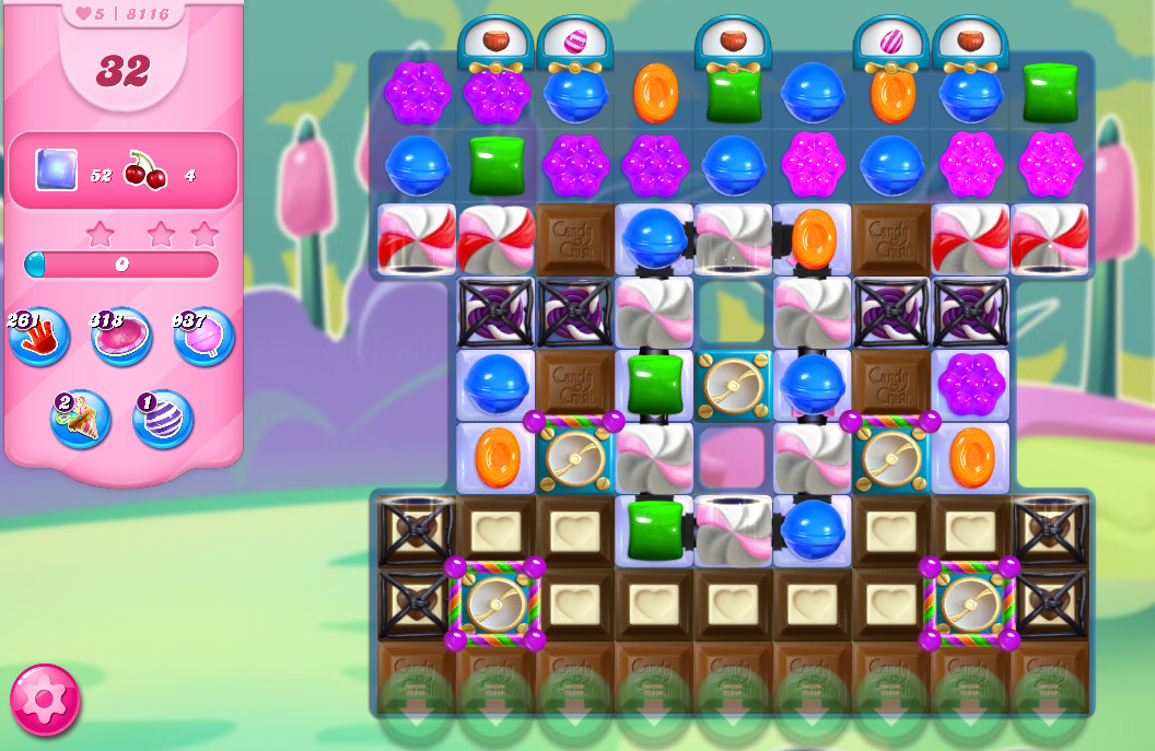 Candy Crush Saga level 8116
