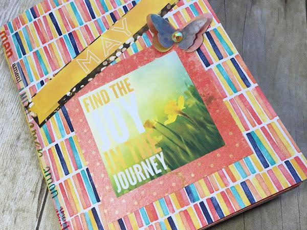 Junque Journal for May #listersgottalist | Bo Bunny Calendar Girl Journal Kit