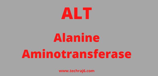 ALT full form, What is the full form of ALT