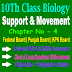 Support And Movement 10th Biology Chapter Four Notes