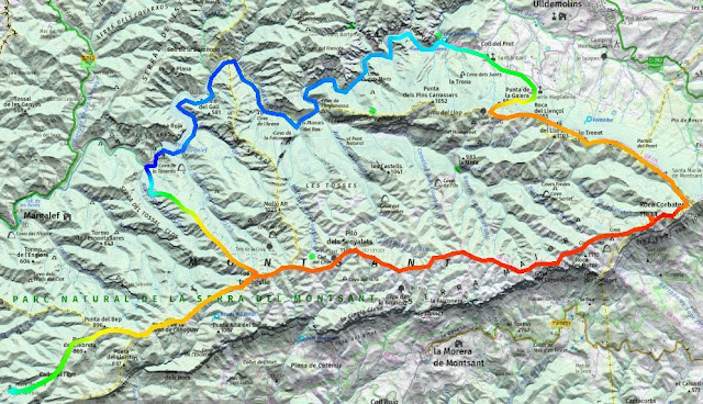Travessa circular de 3 dies pel Montsant