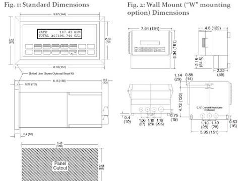 KEPmeter SUPERtrol-I (ST1) Multifunction Totalizer Batch Controller & Ratemeter
